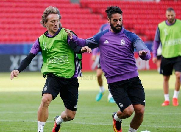 """Гравці """"Реала"""" показали, як готуються до битви за Суперкубок УЄФА"""