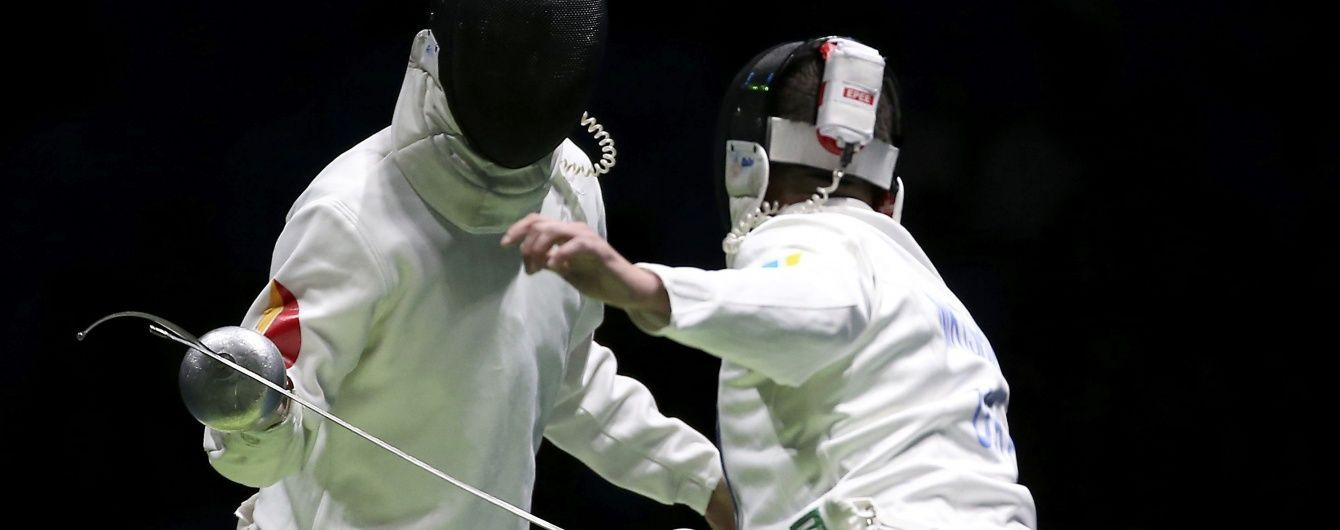 Український шпажист Нікішин пробився до 1/8 фіналу Олімпійських ігор