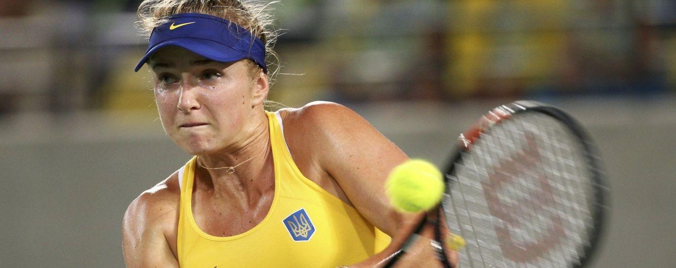 Тенісистка Світоліна програла у чвертьфіналі Олімпійських ігор