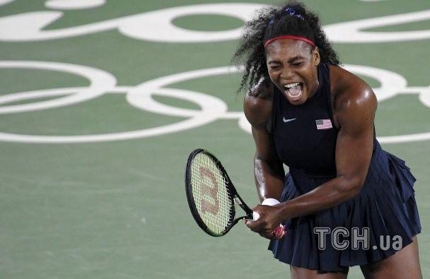 Божевільні емоції у Ріо. Найкращі фото матчу Вільямс - Світоліна