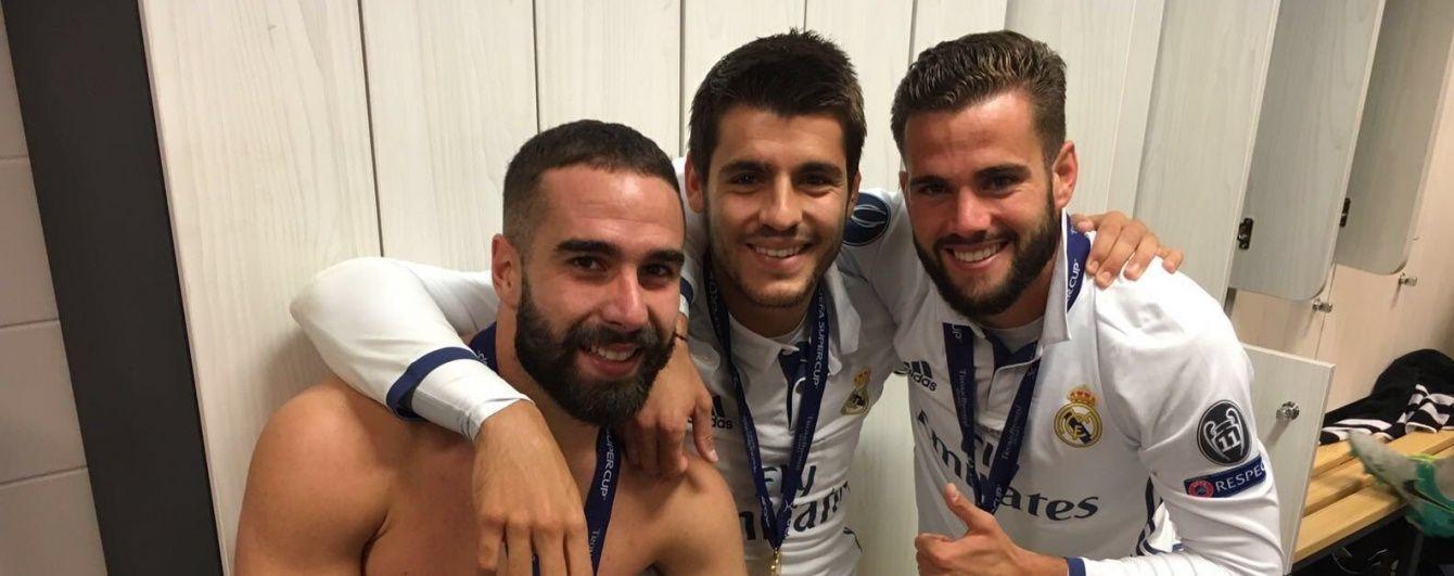 """Роздягальня чемпіонів. Як гравці """"Реала"""" відзначили перемогу в Суперкубку УЄФА"""