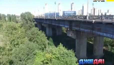 Столичный мост Патона разрушается на глазах