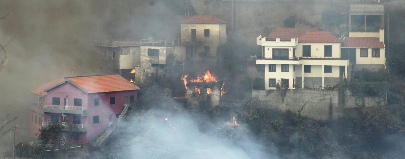 Роналду запропонував фінансову допомогу Мадейрі, яка потерпає від пожеж
