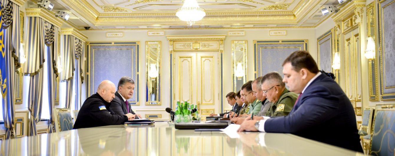 Порошенко доручив МЗС ініціювати розмову з Путіним