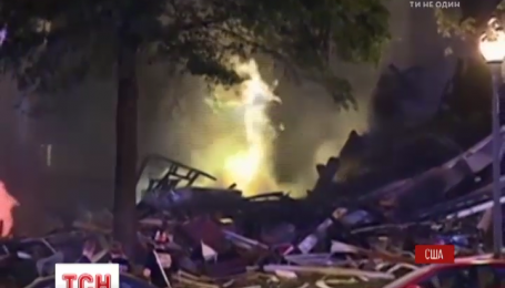 В США взорвался и загорелся жилой комплекс в городе Силвер-Спринг