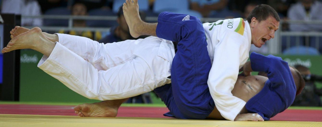 Україна за крок від четвертої медалі. Дзюдоїст Блошенко пробився до півфіналу Олімпіади