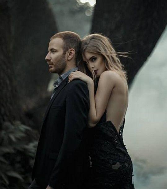 Син Таїсії Повалій разом з дружиною знявся у містичній фотосесії в лісі