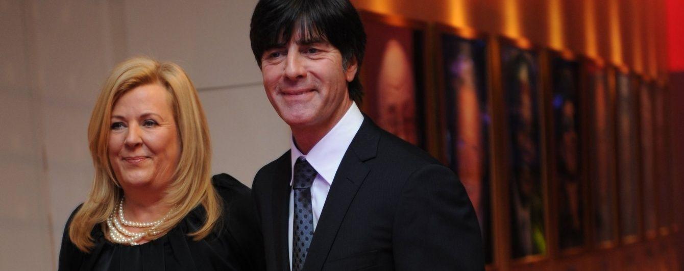 Тренер збірної Німеччини Льов розлучається з дружиною після 30 років шлюбу