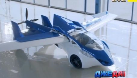 В Словакии построили первый летающий автомобиль