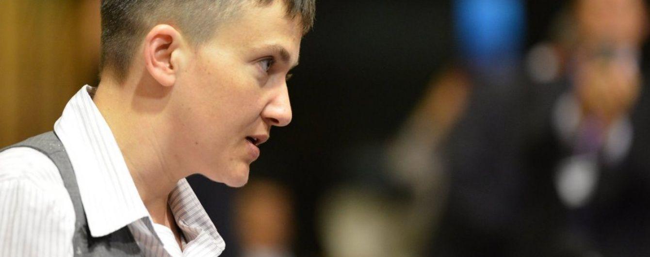 Не зупиняйтесь на моїй історії: Савченко закликала НАТО допомогти звільнити українців із полону РФ