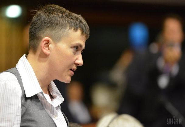 Савченко на засіданні ПАРЄ: Ми платимо за спокій Європи своєю кров'ю