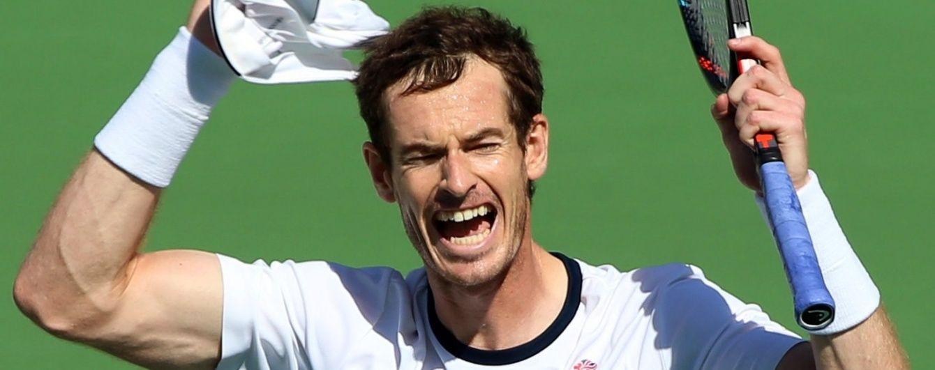 Британець Маррей вийшов до фіналу олімпійського тенісного турніру в Ріо