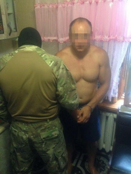 Затримання рекетирів на Харківщині