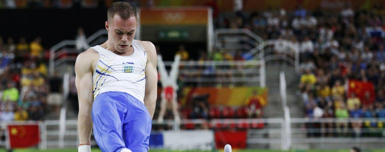 Верняєв опинився серед п'ятірки найкращих гімнастів в опорному стрибку на Іграх-2016