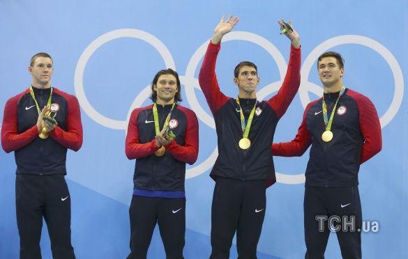 Майкл Фелпс, збірна США з плавання