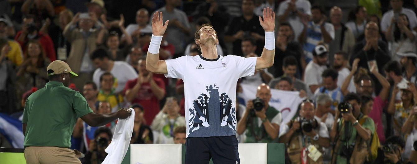 Британець Маррей став олімпійським чемпіоном з тенісу, Надаль - четвертий