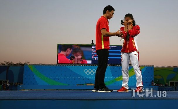 Китайській спортсменці запропонували вийти заміж одразу після нагородження медаллю в Ріо
