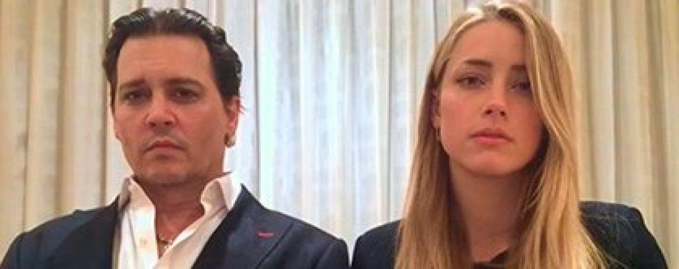 Херд про скандальний ролик із п'яним Деппом: Я не несу відповідальності за випуск цього відео