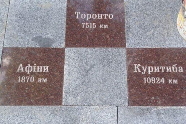 На Тернопільщині відкрили пам'ятник мігрантам-заробітчанам