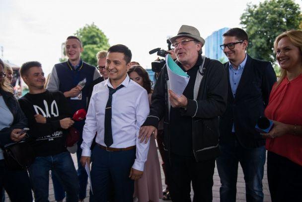 """""""Слуга народу 2"""": в Україні знімають продовження політичної комедії з Зеленським"""