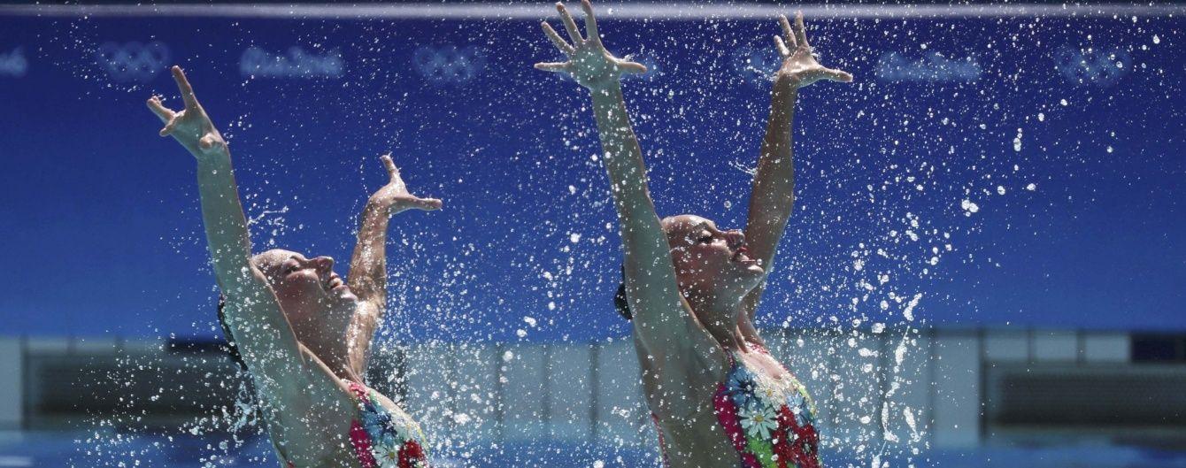 """Українські """"русалоньки"""" вийшли у фінал синхронного плавання на Олімпіаді-2016"""
