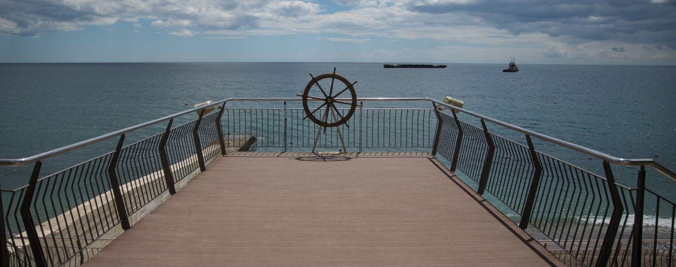 В окупованому Криму пішла на дно прогулянкова яхта