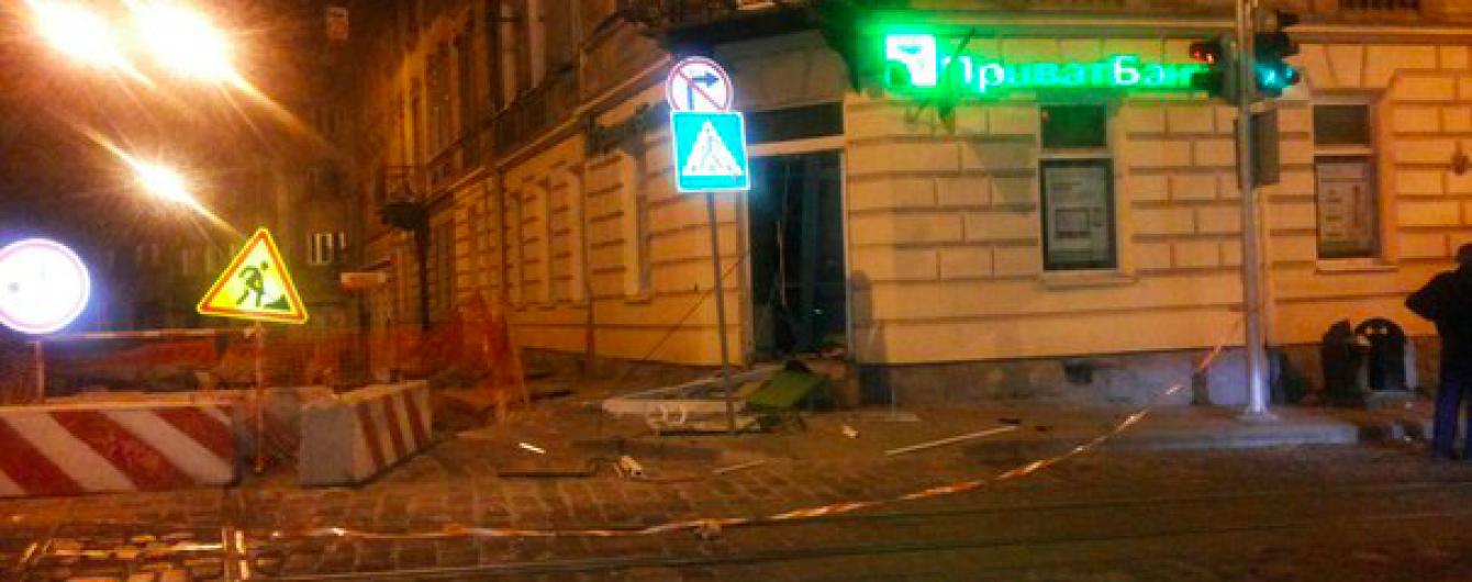 ПриватБанк обіцяє 25 тисяч гривень за інформацію про підривників банкомату у Львові