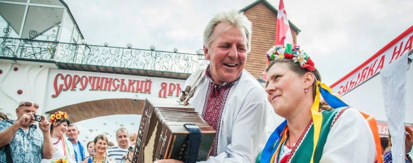 На Полтавщині стартує найбільший в Україні Сорочинський ярмарок