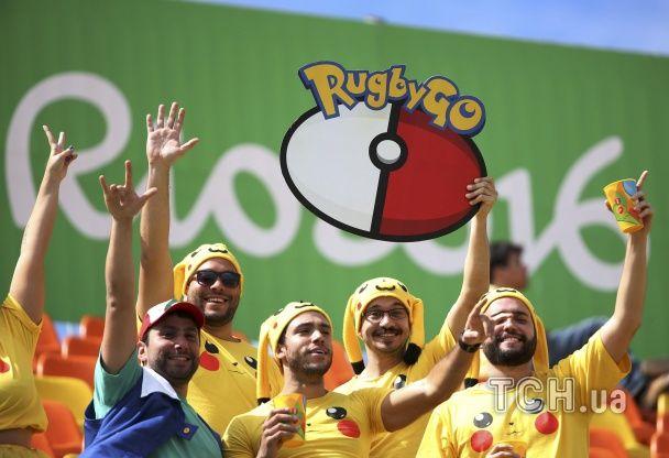 Супергерої, покемони та бородані в спідничках: вболівальники у Ріо змагаються у оригінальності костюмів