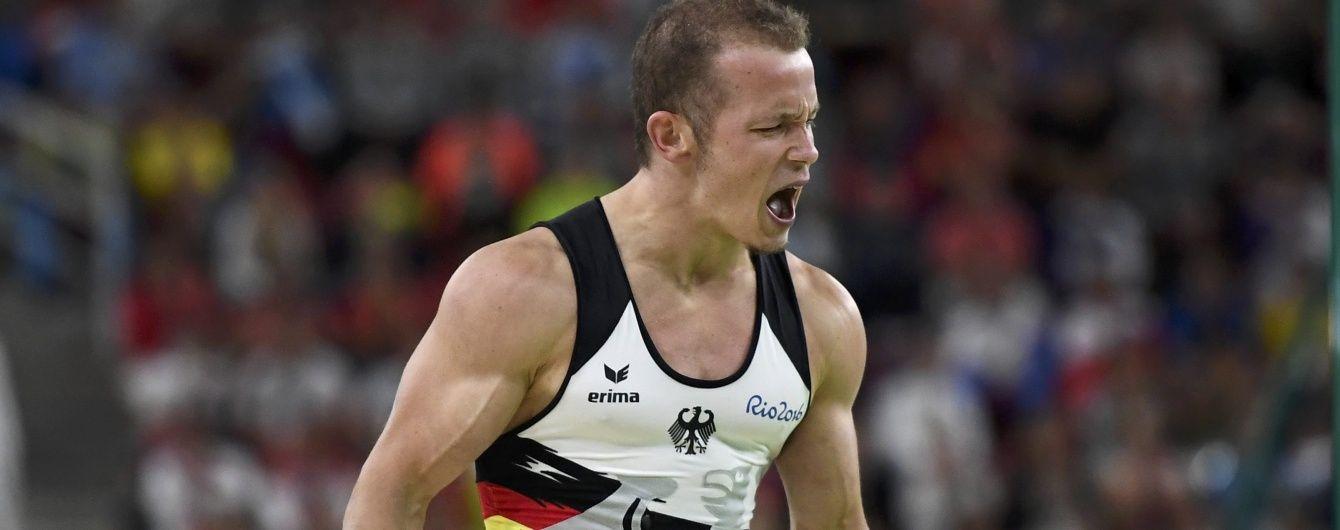 Німецький гімнаст надумав викупити турнік Олімпійських ігор у Ріо після свого тріумфу