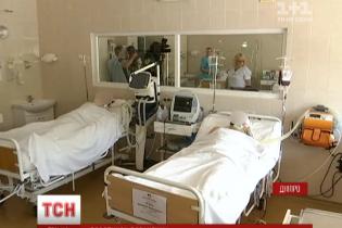 Із фронту до Дніпра госпіталізували військового зі страшними пораненнями