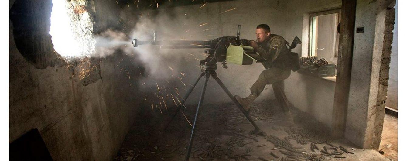 Військові в Пісках розповіли про найпотужніший за останній час обстріл