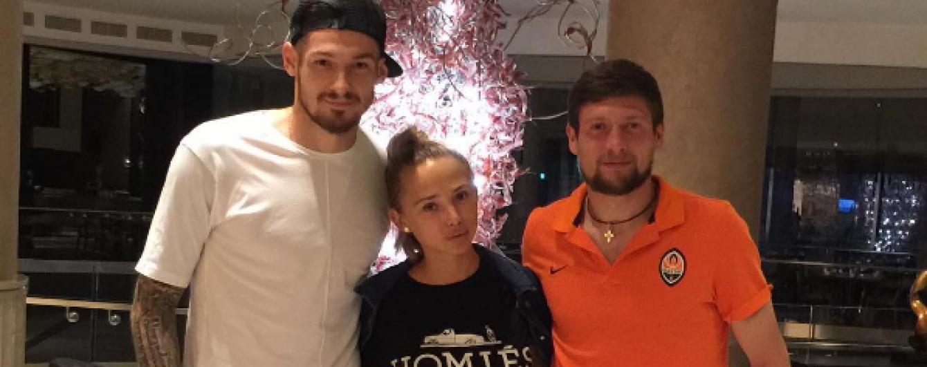 Футбольна солідарність. Бойко особисто підтримав Селезньова перед матчем Ліги Європи