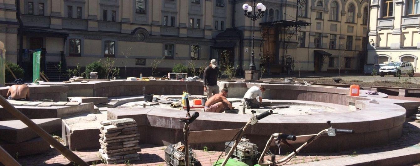 У Києві біля Оперного театру відновлять світломузичний фонтан, що гратиме гімн