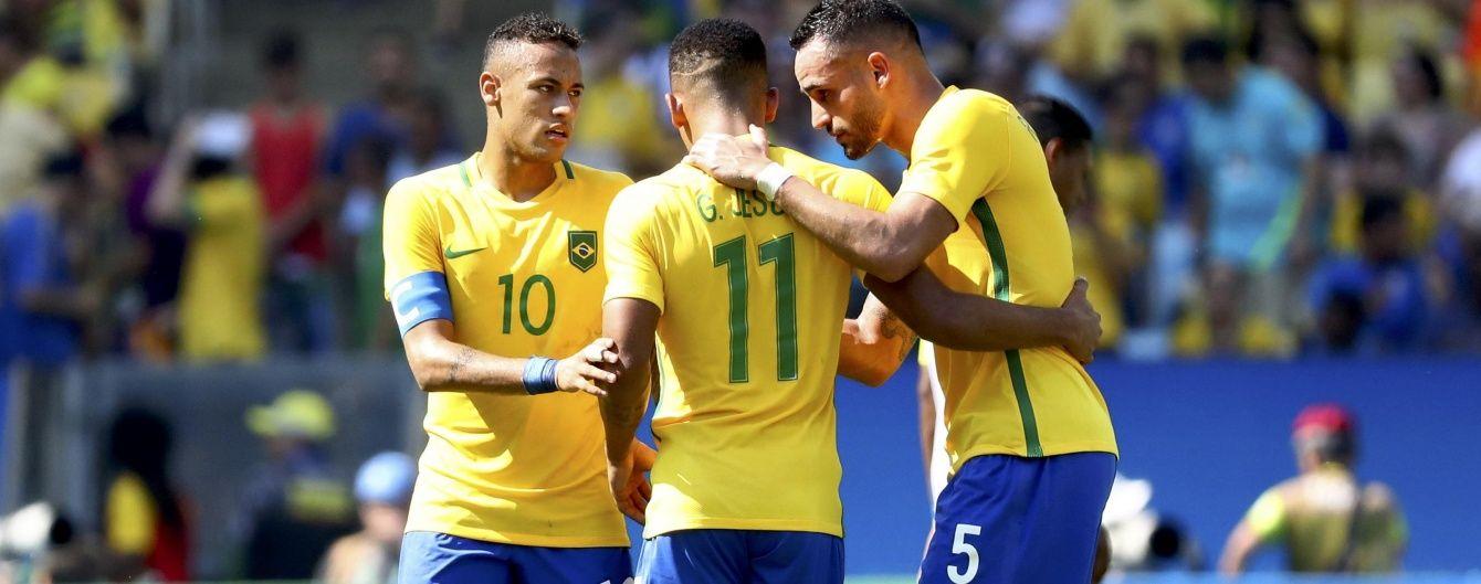 Бразилія та Німеччина зіграють у футбольному фіналі Олімпіади-2016
