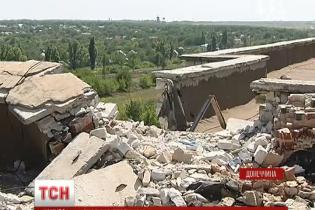 Бойовики прямим влученням знищили будинок в Авдіївці