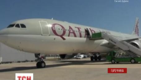 В Туреччині у літака після злету загорівся двигун