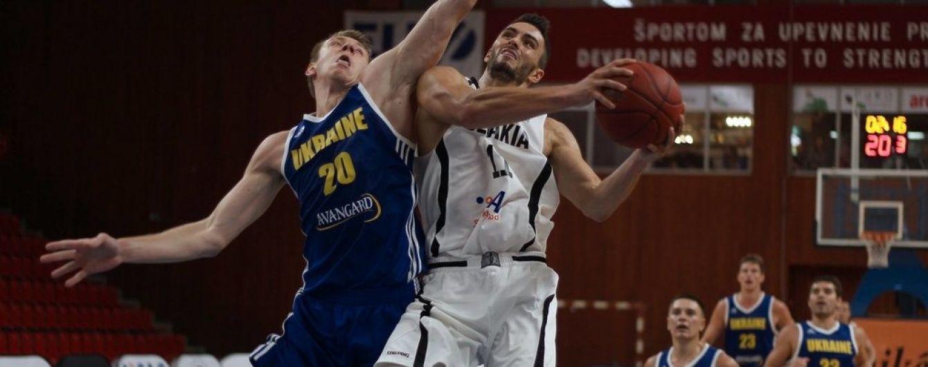 Збірна України з баскетболу впевнено перемогла швейцарців