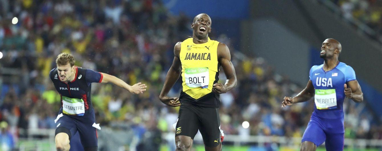 Легендарний Болт став восьмиразовим олімпійським чемпіоном
