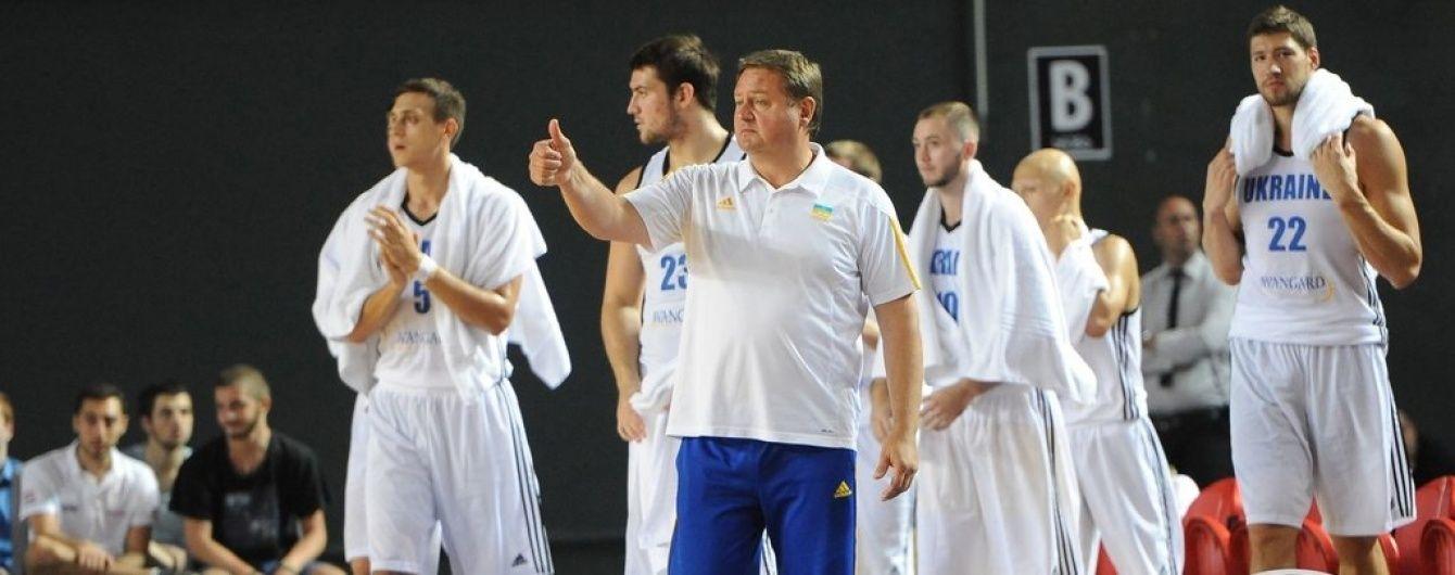 Збірна України з баскетболу розгромила Данію у рамках підготовки до відбору Євробаскета-2017