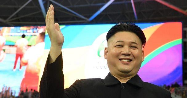 На Олімпіаді в Ріо помітили двійника Кім Чен Ина