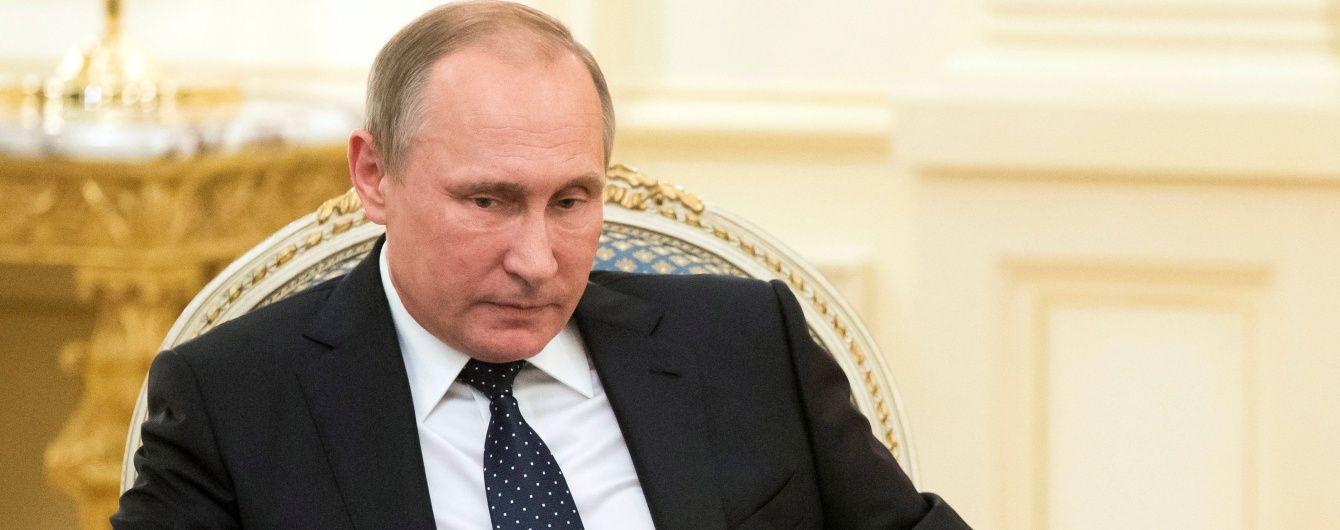 """Путін пояснив """"диверсію"""" у Криму невиконанням Мінських угод"""