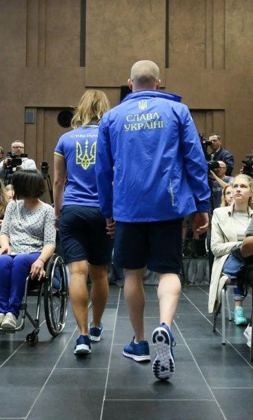 Дефілє паралімпійців. Українські спортсмени показали форму на Ігри-2016