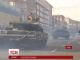 Військовий оркестр, танки і БТР: на Хрещатику триває репетиція параду до Дня незалежності України