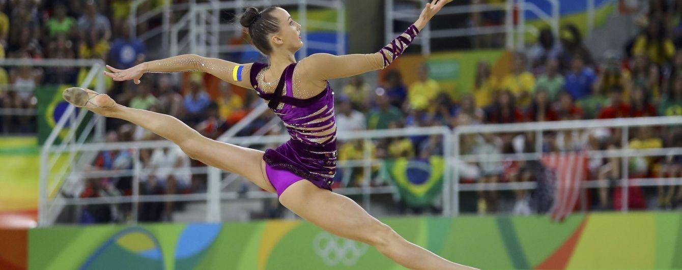 Українка Різатдінова вийшла до фіналу олімпійського турніру з художньої гімнастики