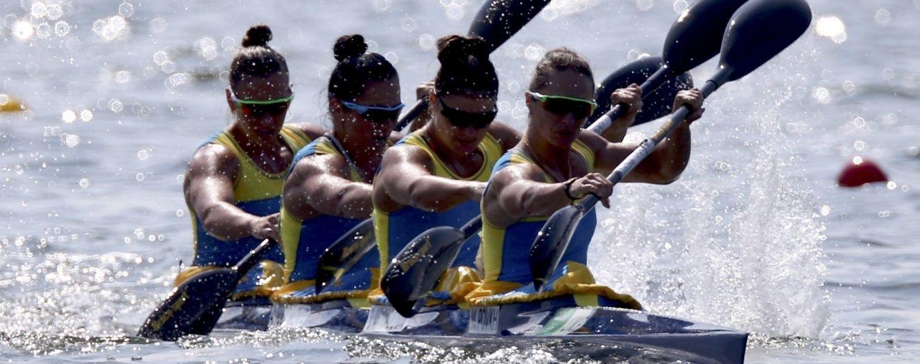 Українські байдарочниці фінішували четвертими у фіналі Олімпіади-2016