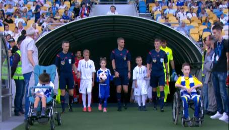 Бразильцы Динамо сделали музыкальный подарок олимпийской сборной Украины