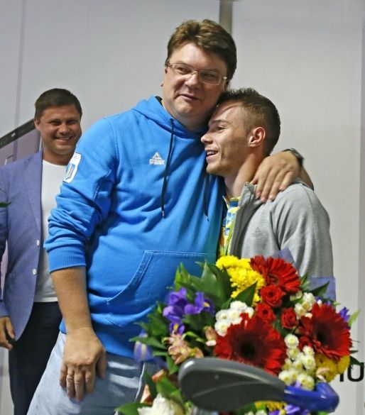 Зустріч Олега Верняєва у Борисполі_4