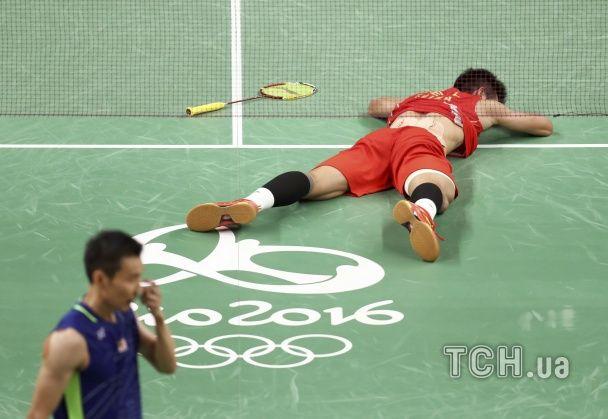 У китайського бадмінтоніста сталася істерика після перемоги у фіналі Олімпіади в Ріо