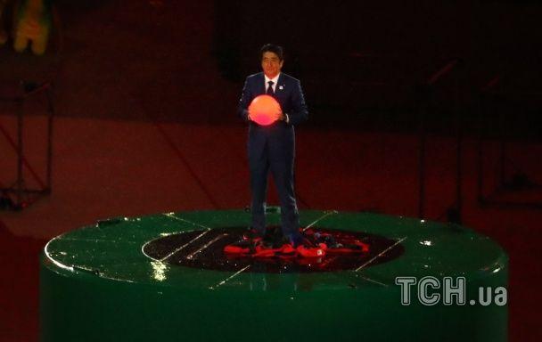 На закритті Олімпіади в Ріо прем'єр Японії з'явився в костюмі Супер Маріо